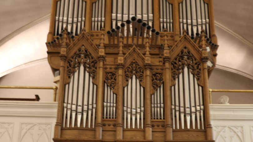 An update about the virtual organ crawl of Letourneau Opus 12 at the Cathedral of St. Catherine of Alexandria