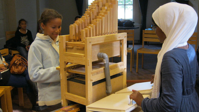 Children can now build their own pipe organ