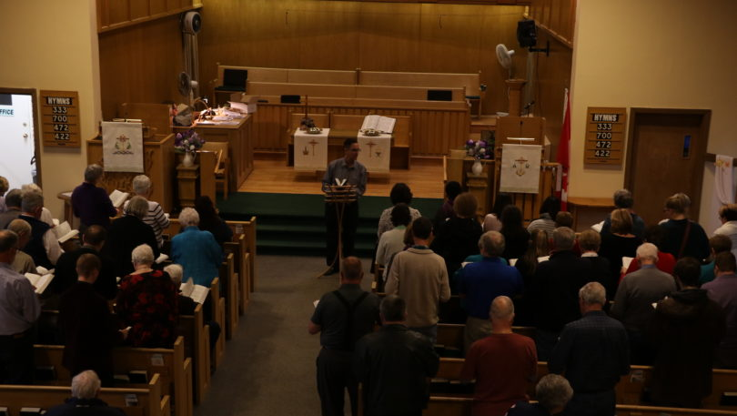 Area musicians gather to sing