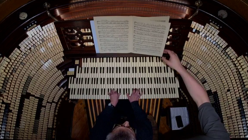 Restoration continues on the largest organ in the world