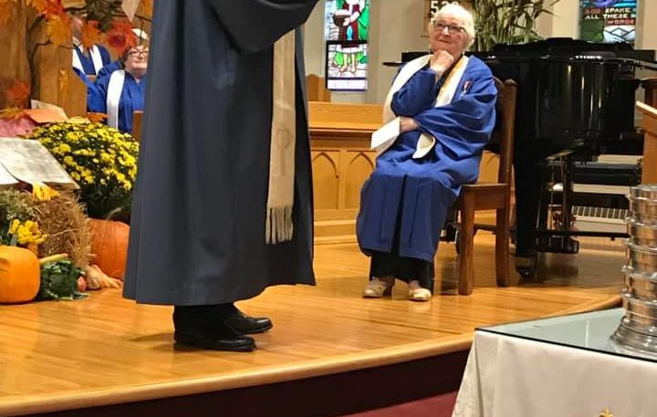 Marjorie Slinn announces retirement from Stamford United Church
