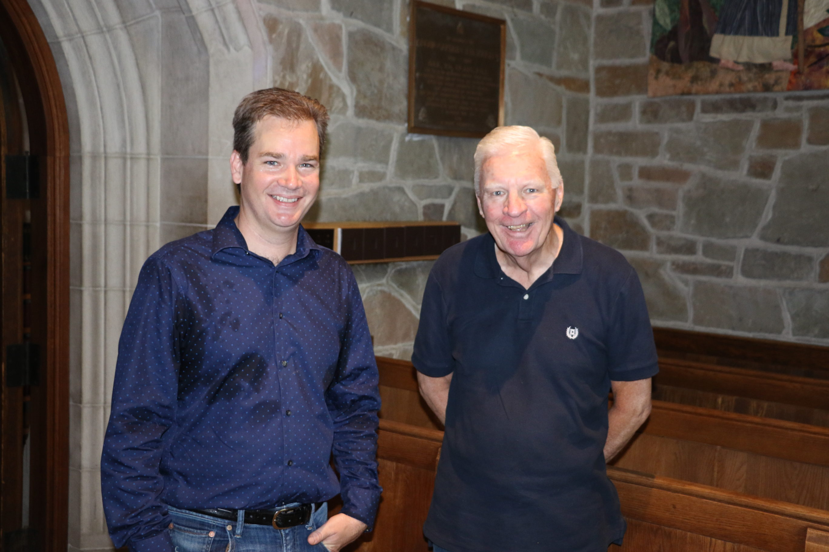 Ken and David Cowan, Father/Son Organists